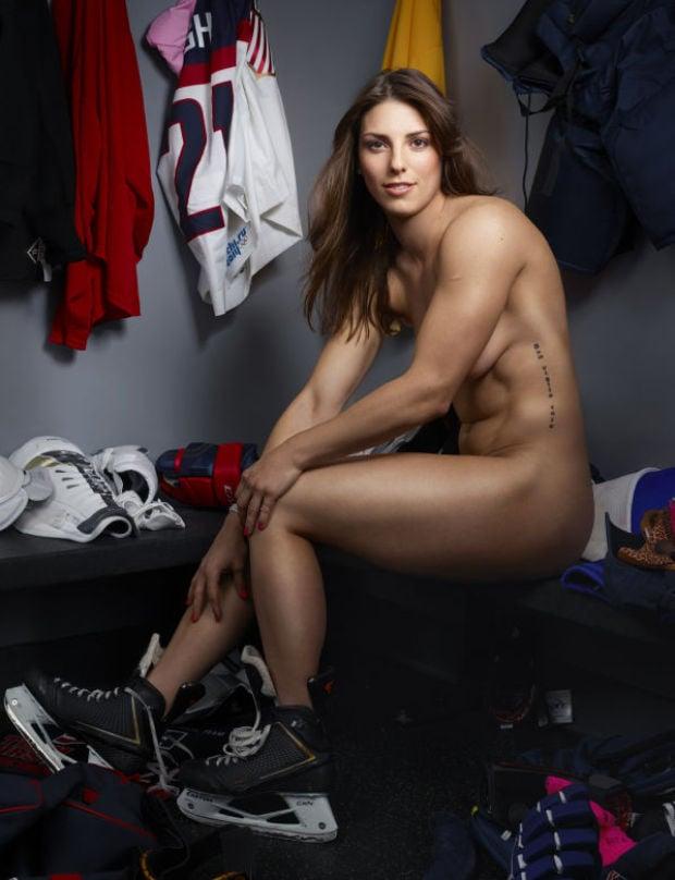 Nude Hockey Women 26