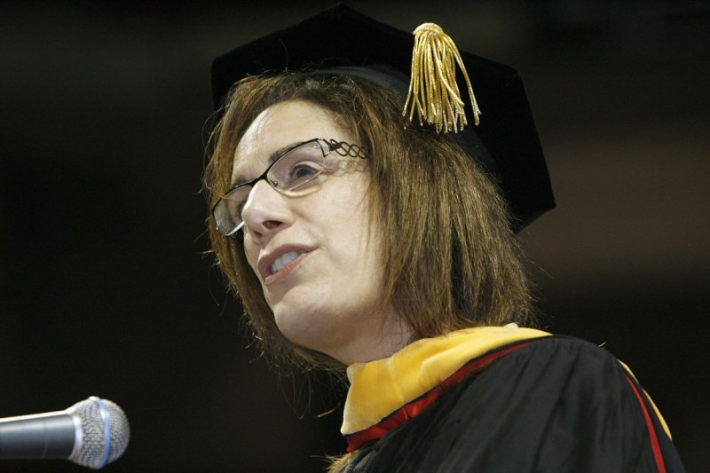 Judith Faulkner at UW Commencement in May 2010.  (copy)