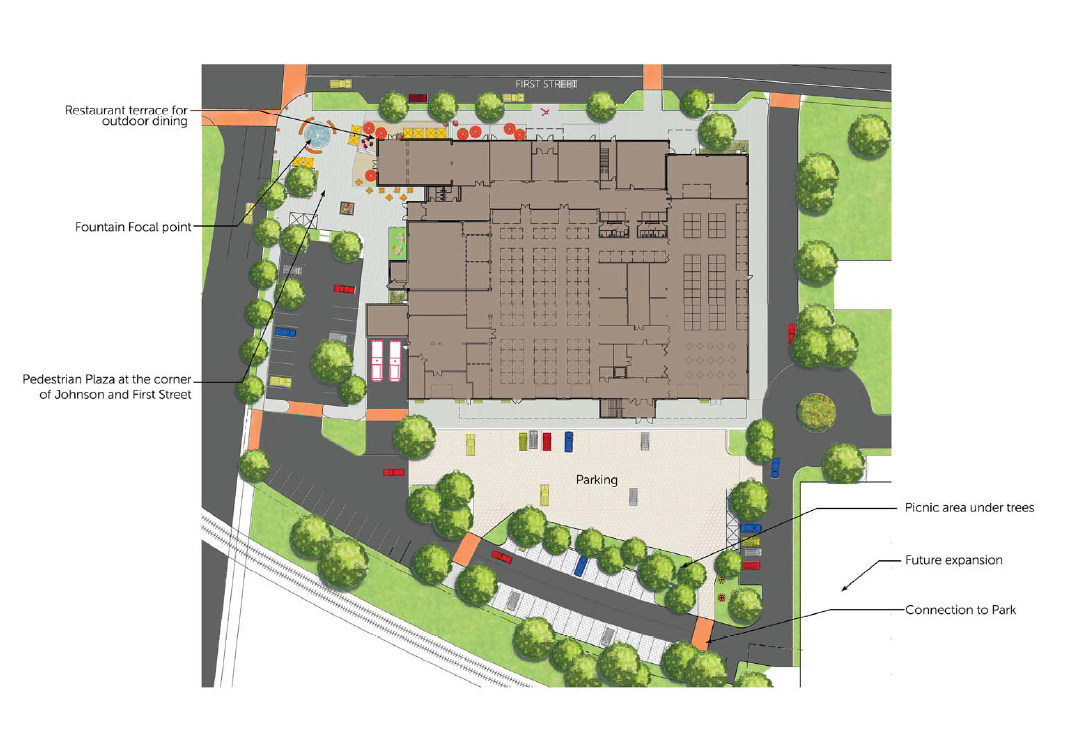 Madison releases public market business plan local news for Outdoor floor plan