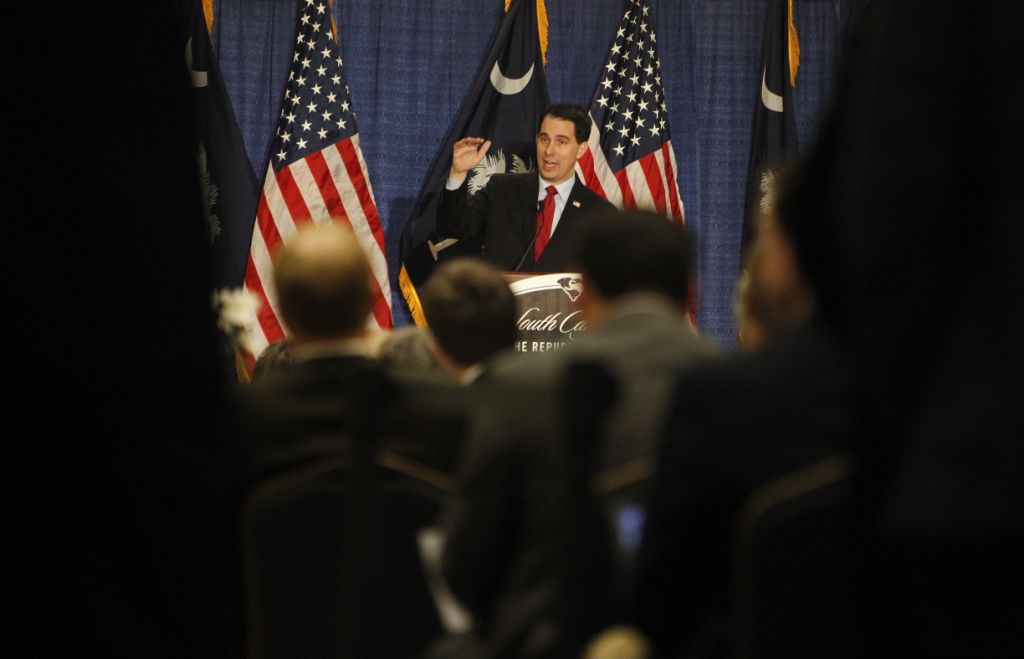 Scott Walker is drawing support from a newly formed Super PAC