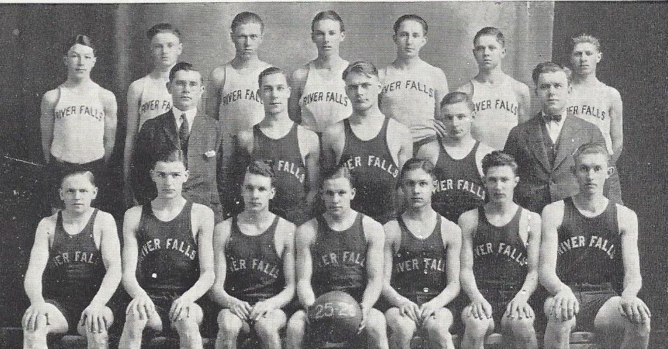 Warren Knowles' high school basketball team
