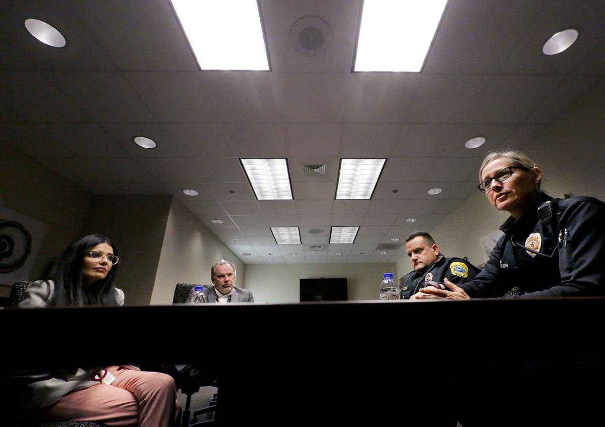 Administrators, cops at Willow Creek Behavioral Health in Green Bay