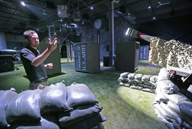 Icombat Makes Laser Tag More Real Business Host