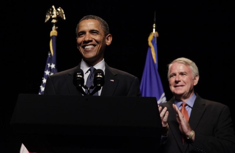 Barack Obama, Tom Barrett