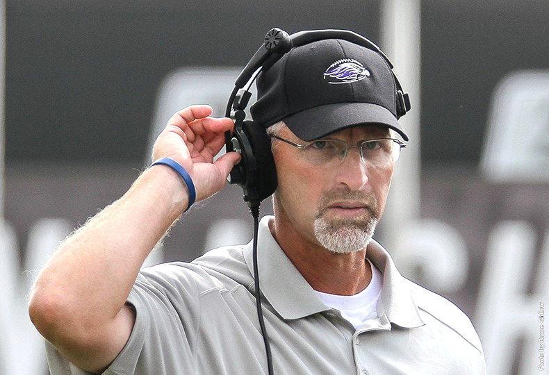UW-Whitewater coach Kevin Bullis