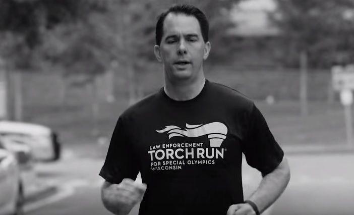 Walker running