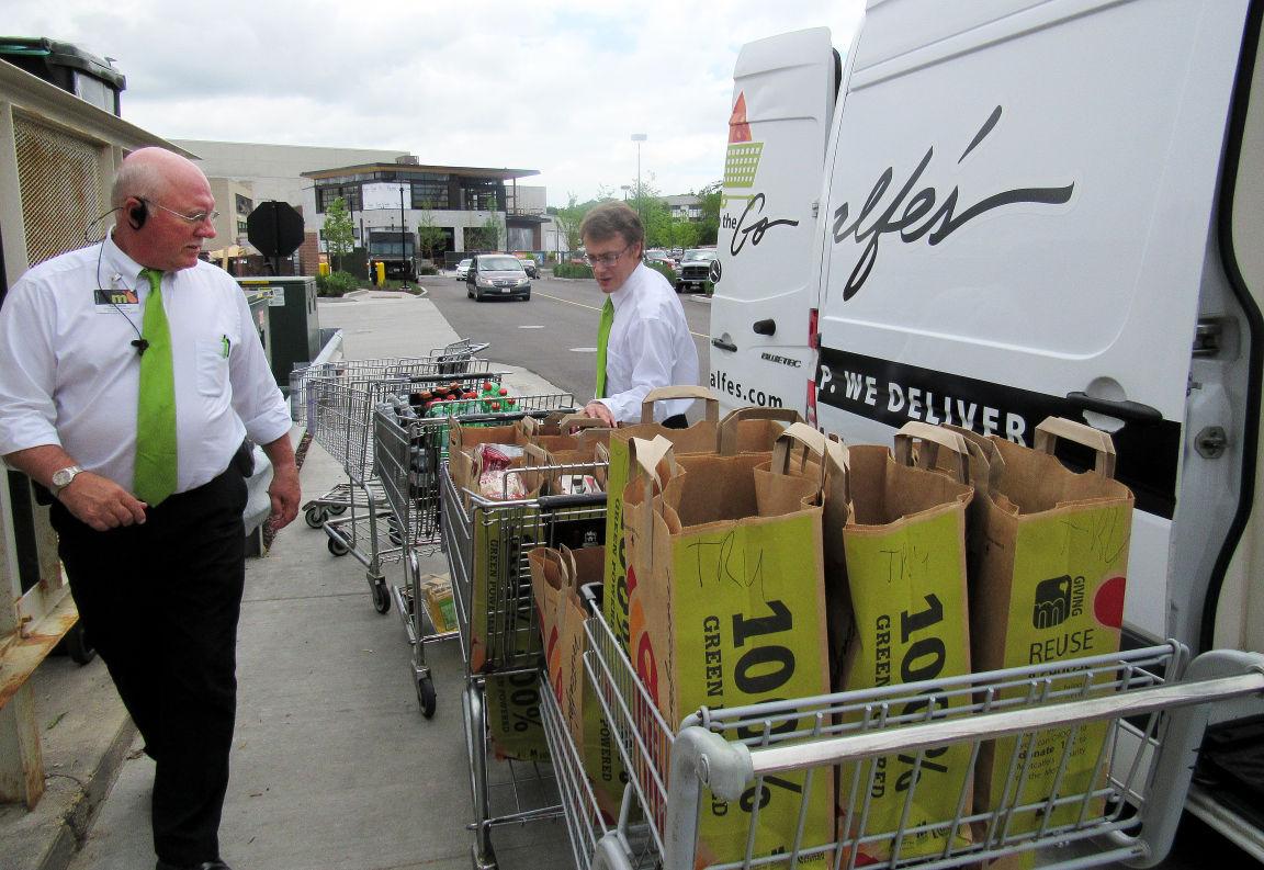 Online grocery sales