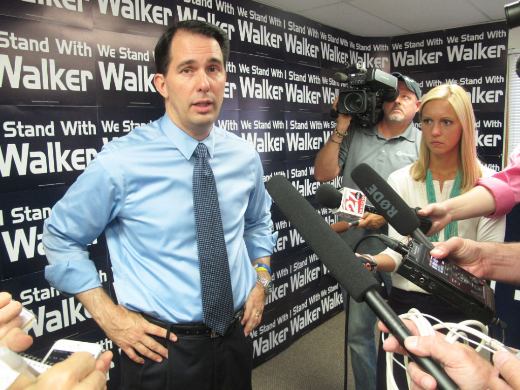 Walker was principal target in John Doe investigation