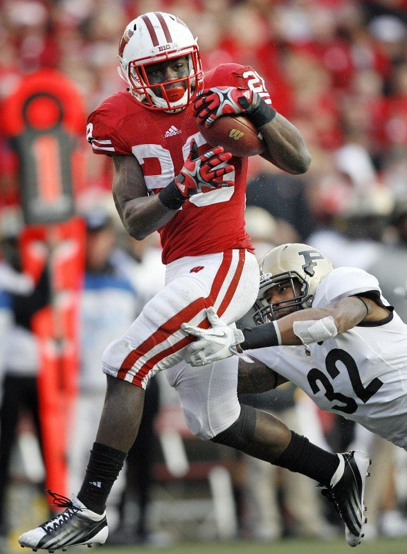 Montee Ball, UW football vs. Purdue
