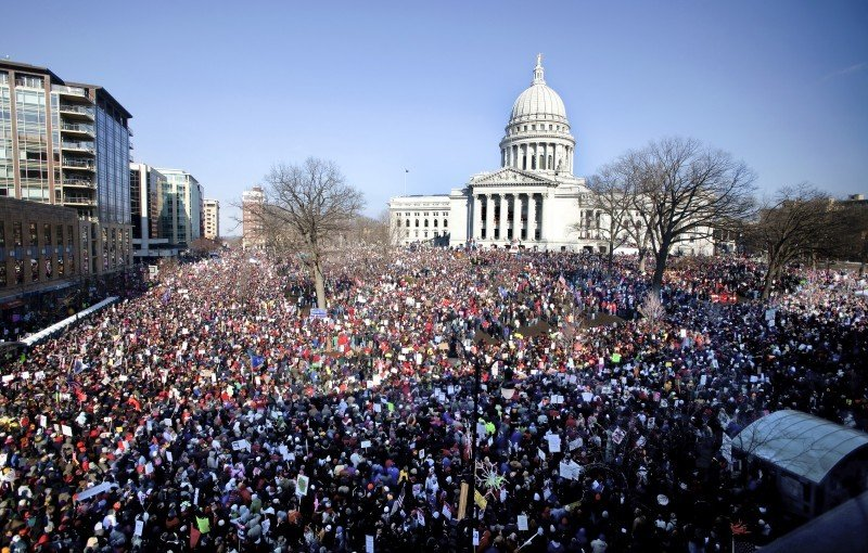 Capitol protests file photo