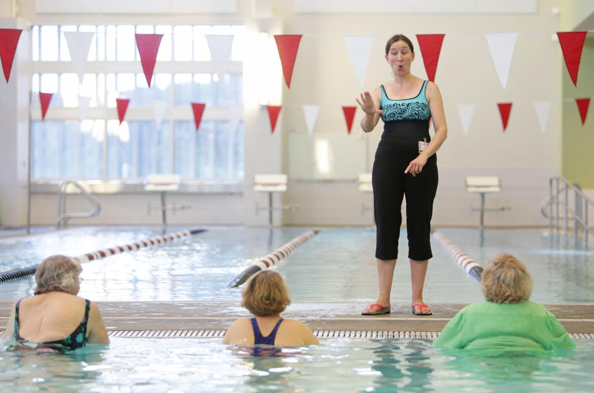 Image result for sign language interpreter in swimming lessons