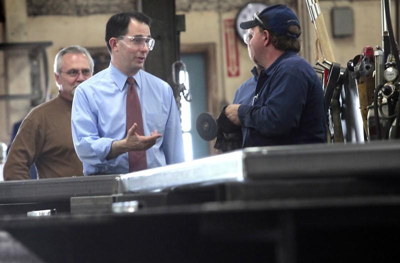 Walker at Endres Manufacturing