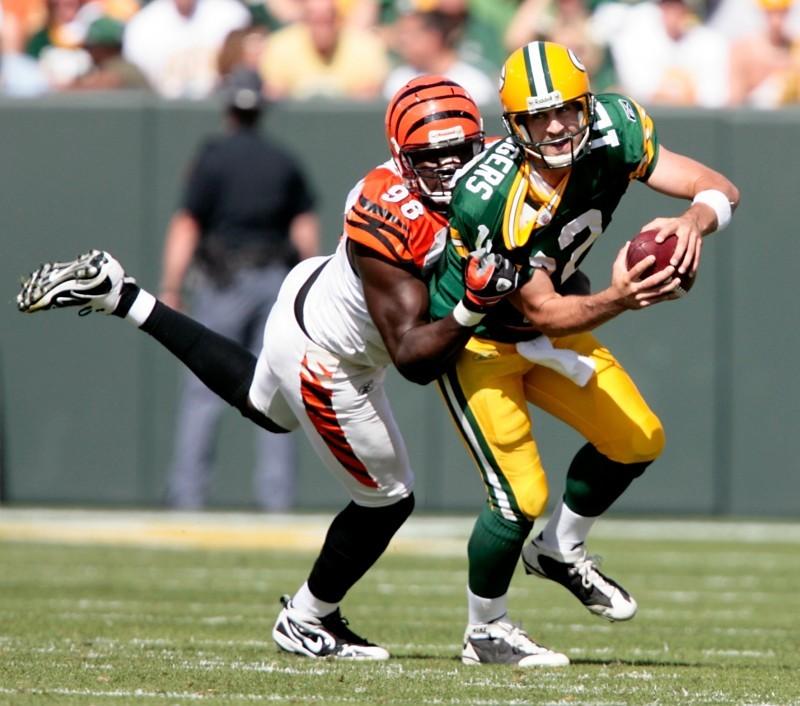 Aaron Rodgers, Packers vs. Bengals