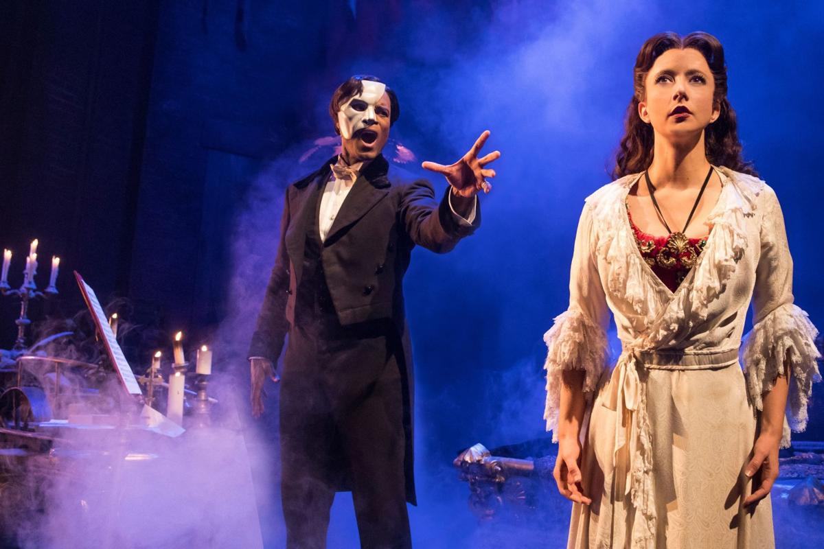 Phantom of the Opera Derrick Davis and Katie Travis
