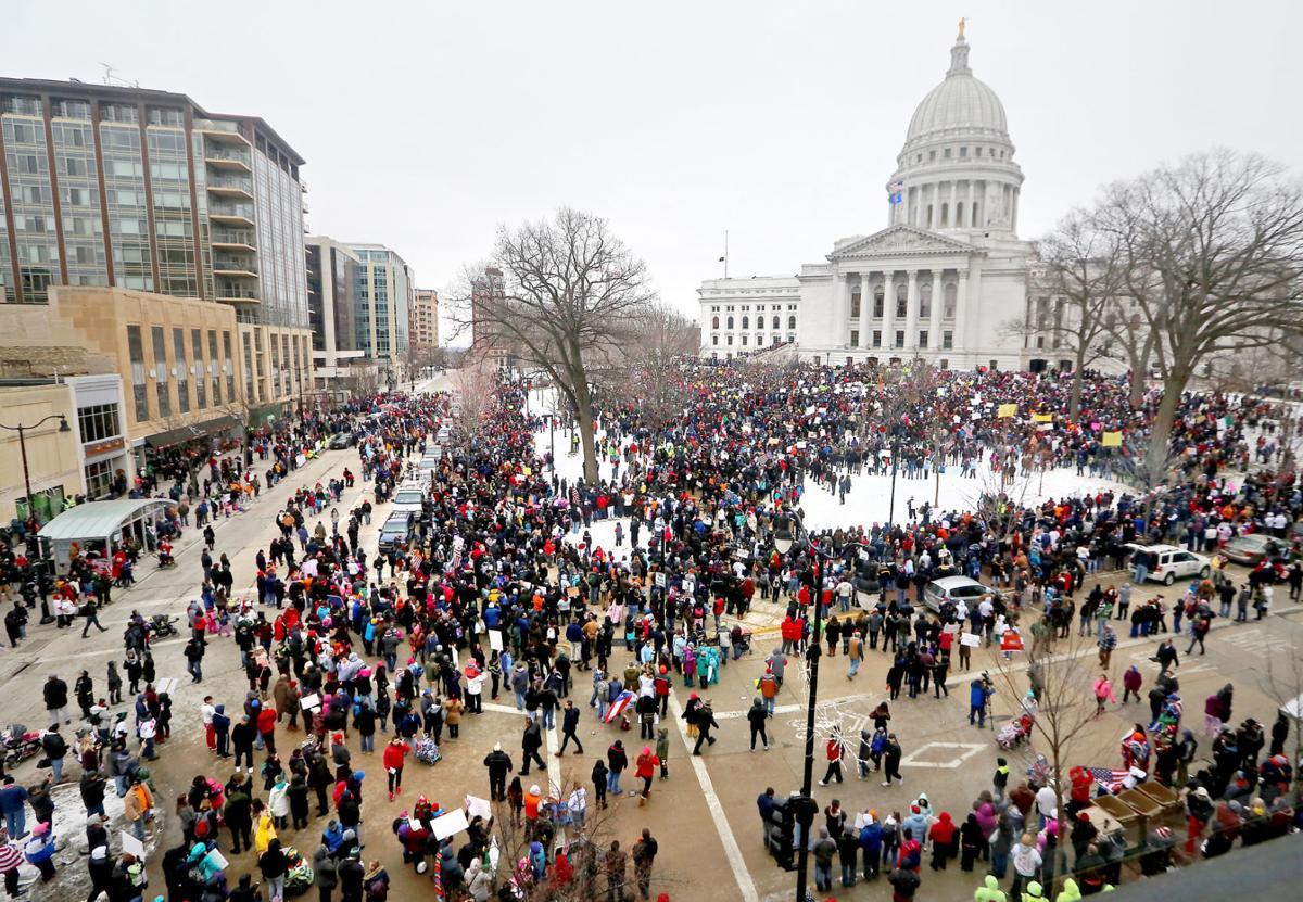 Latinos Rally Senate bill