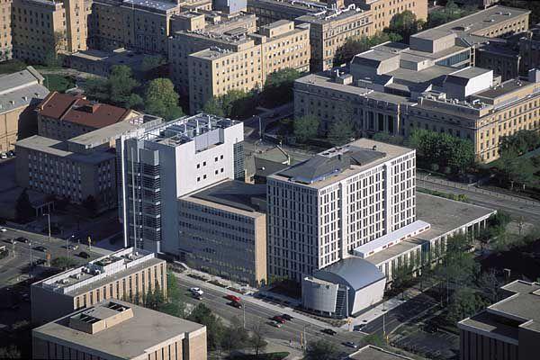 Chemistry buildings