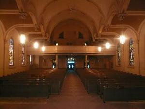 Inside Chapel of the Archangels