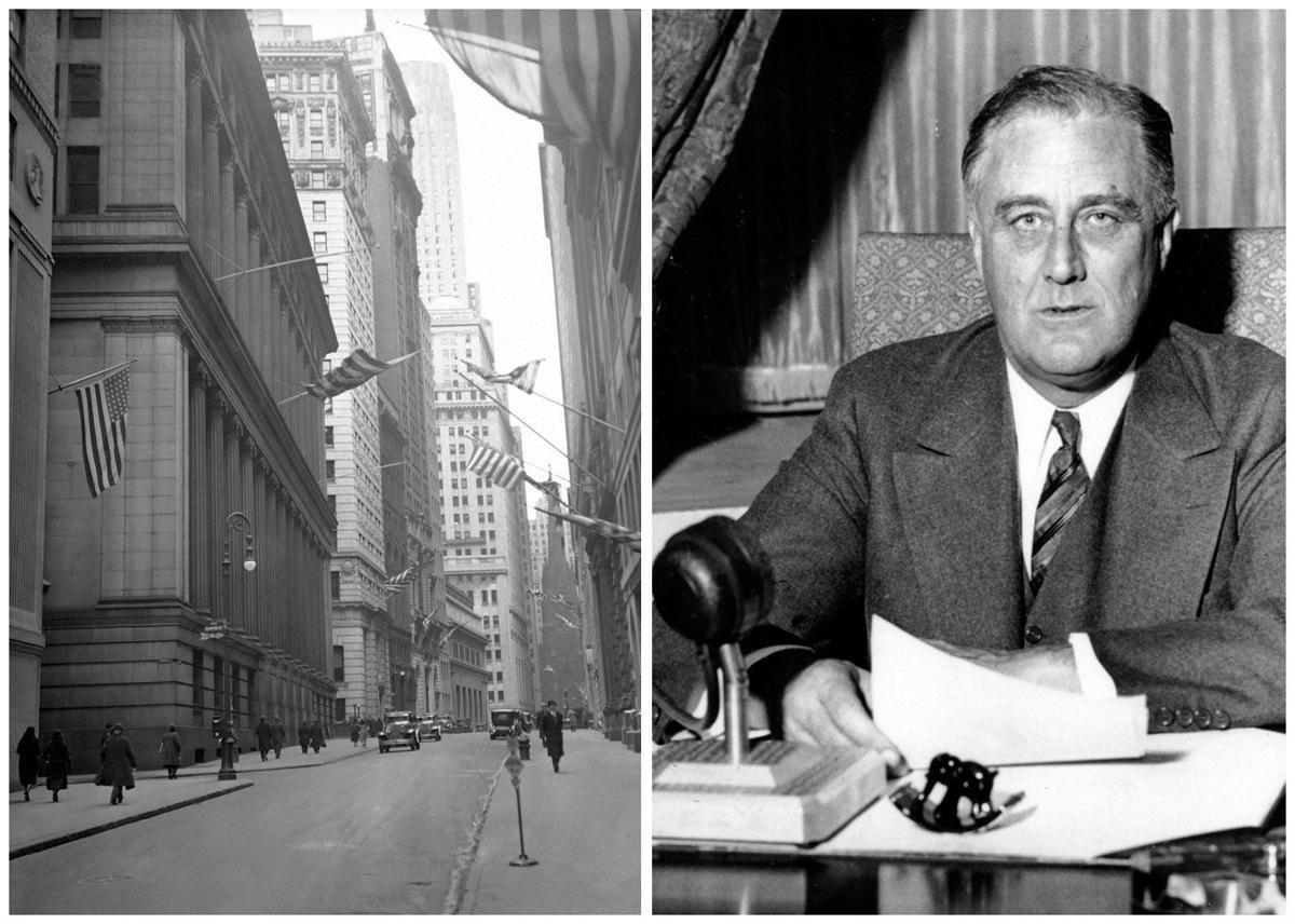President Franklin D. Roosevelt - Banking holiday