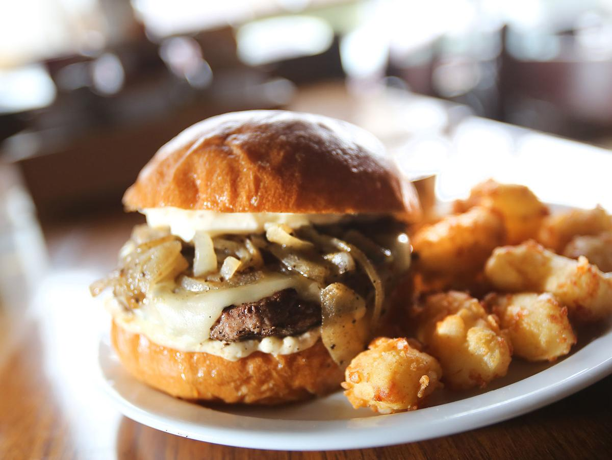 Sweet Home Wisconsin burger and curds