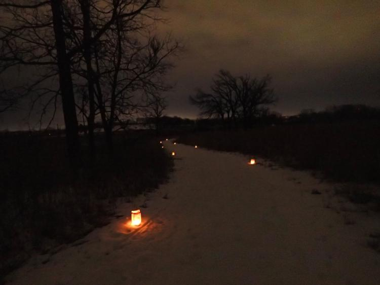 Candlelight Walk CHEROKEE MARSH