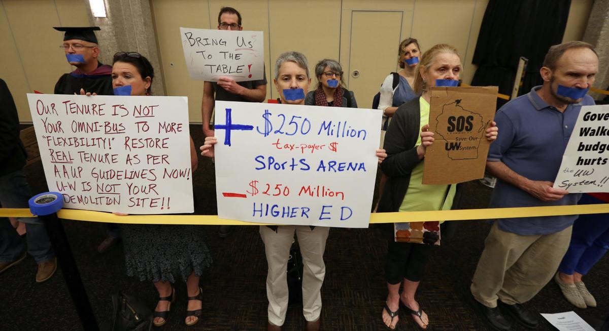 UW Regents protest