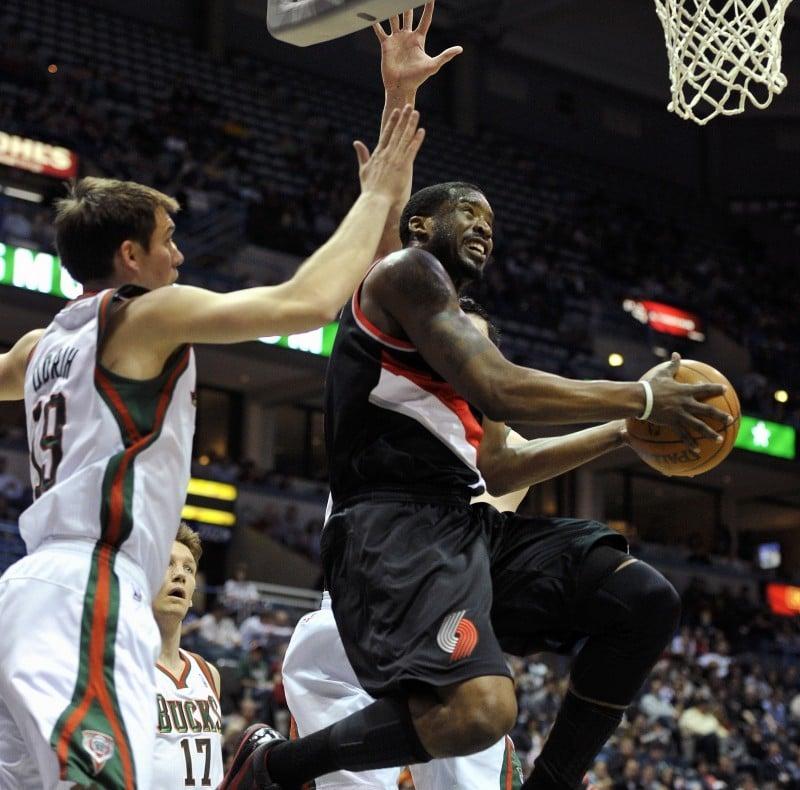Bucks vs. Portland (Wesley Matthews)