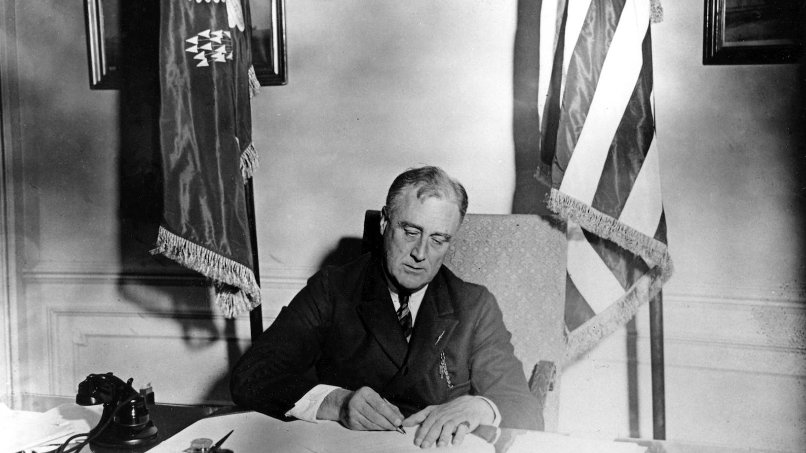 president franklin d roosevelt the We look back at the life and career of the 32nd president of the united states of america.