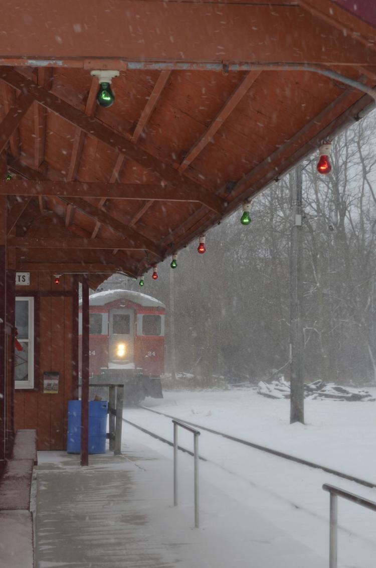 Christmas Train EAST TROY RAILROAD