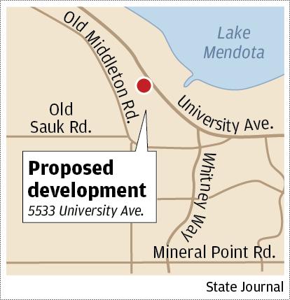 University Ave development