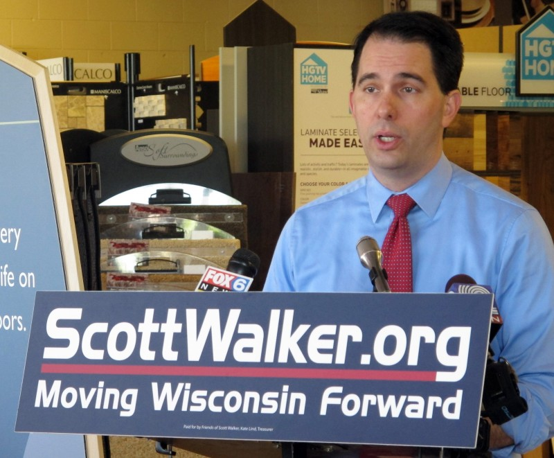 Walker campaign file photo 5/14/12