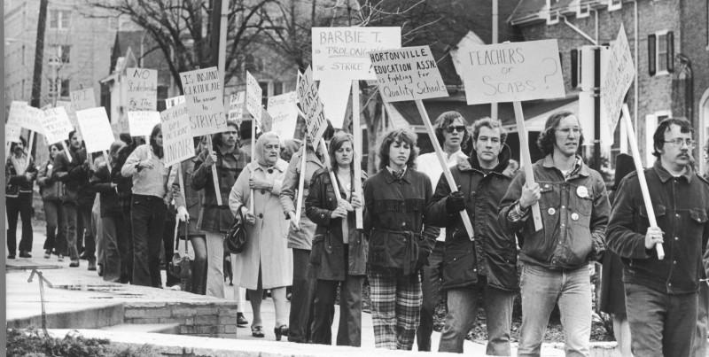 Hortonville teachers strike 1974