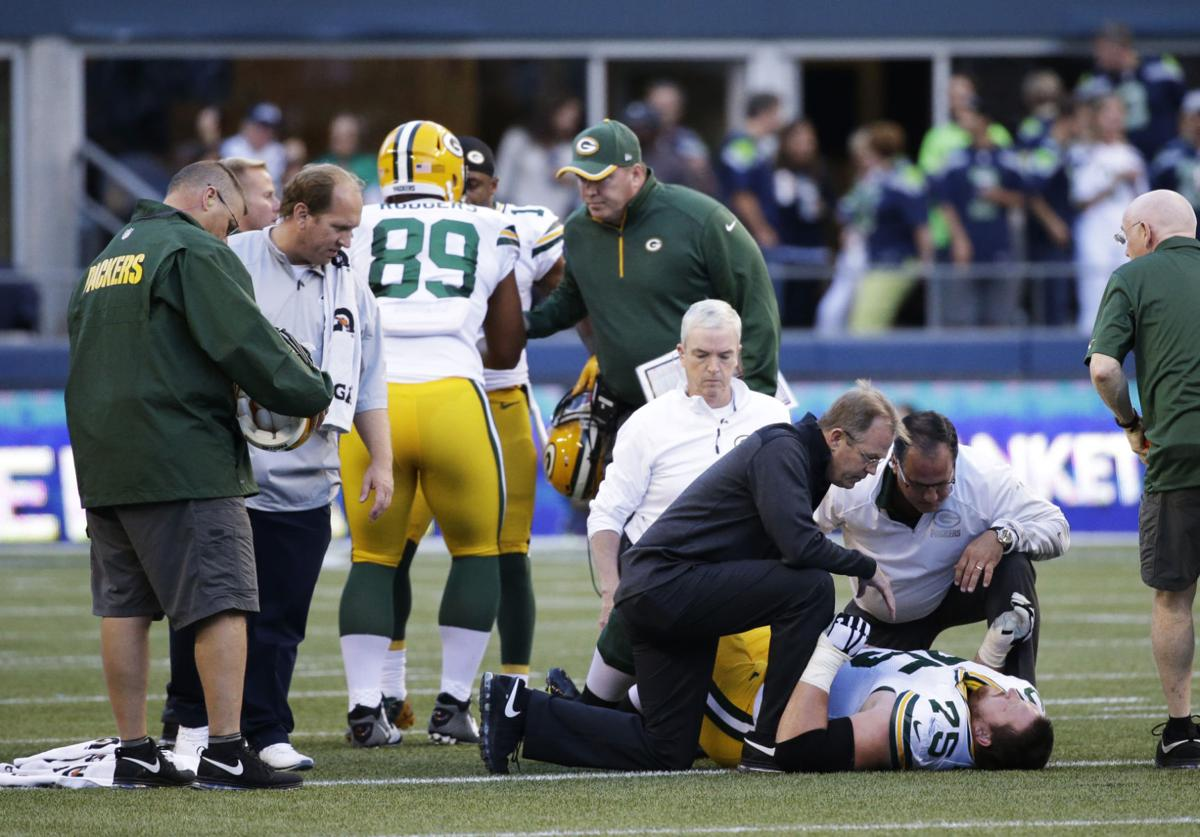 Packers notes Another setback in the offensive line as oft