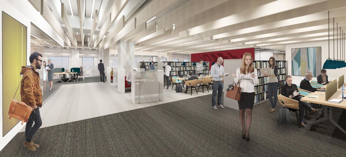 Business school renovation