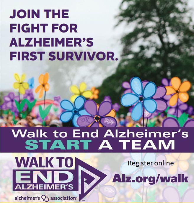 Walk to End Alzheimer's ALZHEIMER'S ASSOCIATION