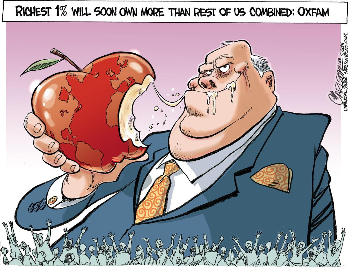 wealth cartoon