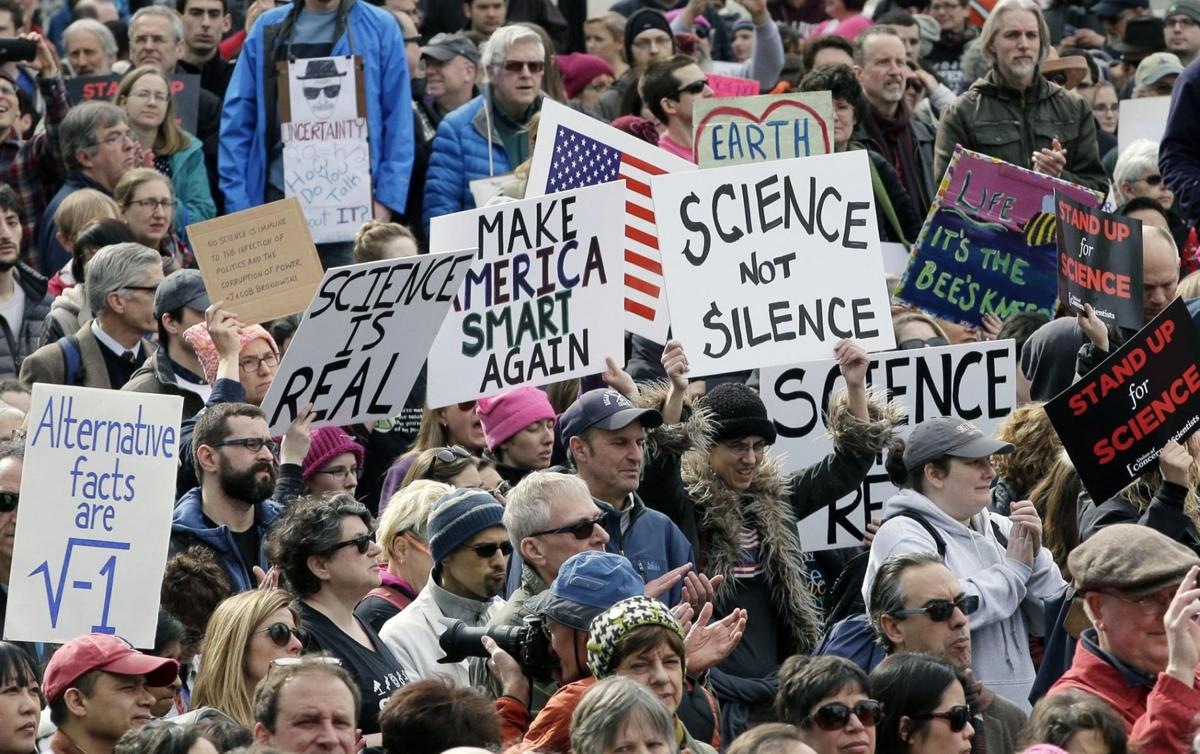 Rally for science Boston