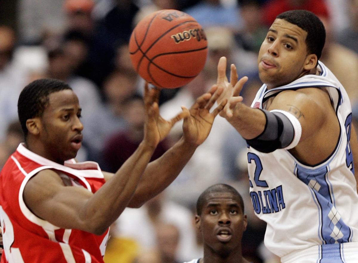 Alando Tucker, Sean May, NCAA tourney, AP photo