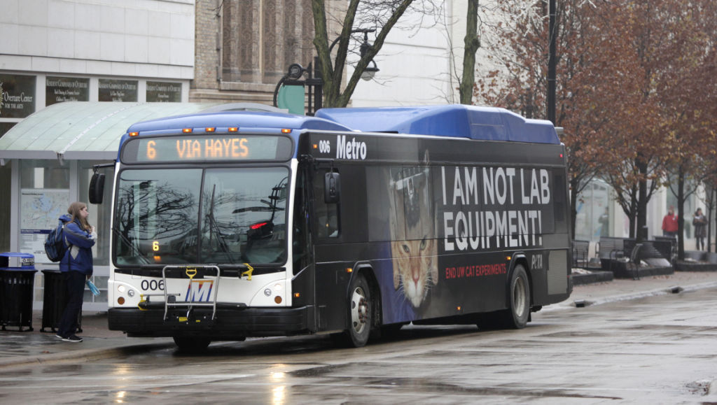 Local officials mull using metro transit buses for texting while madison metro transit bus sciox Gallery