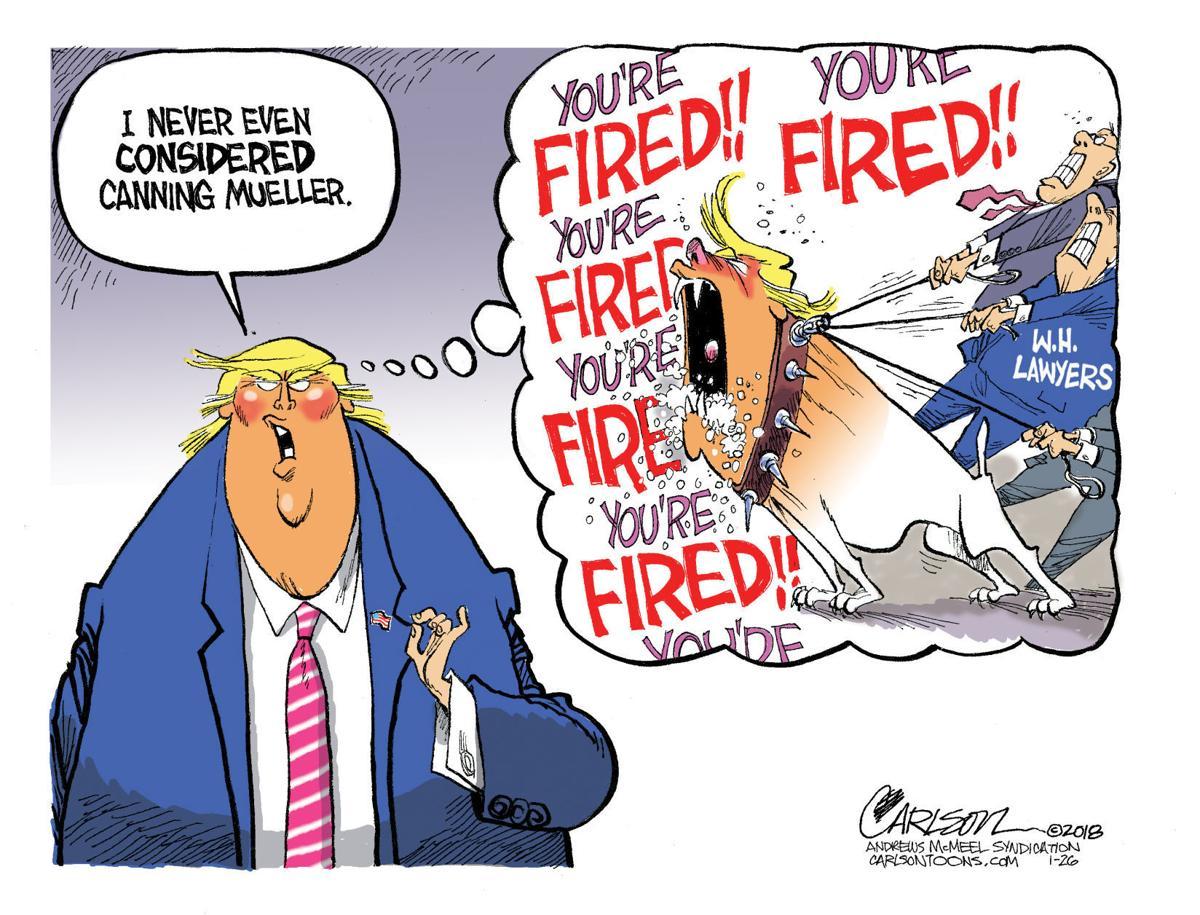 Editorial cartoon 2/2/18