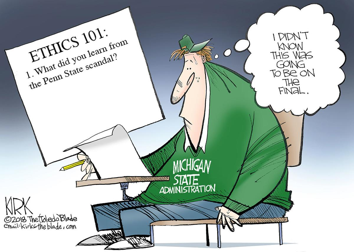 Editorial cartoon 2/4/18