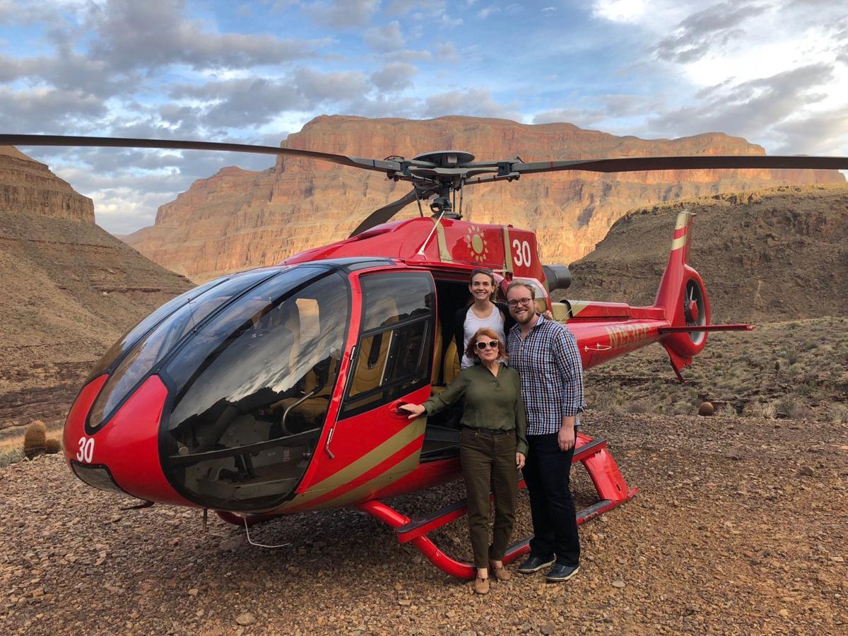 Nurse helps survivors of helicopter crash