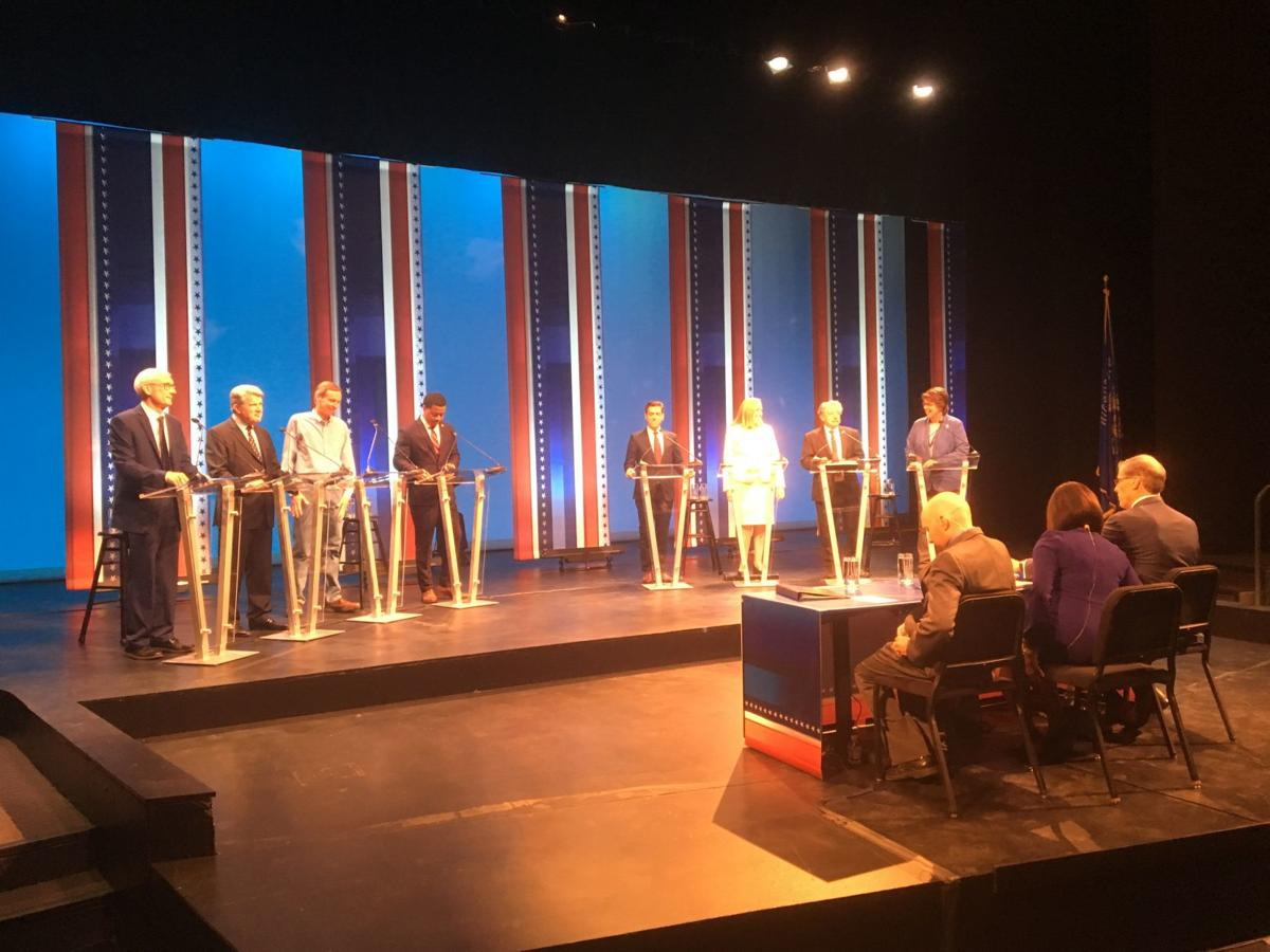 Democratic gubernatorial debate