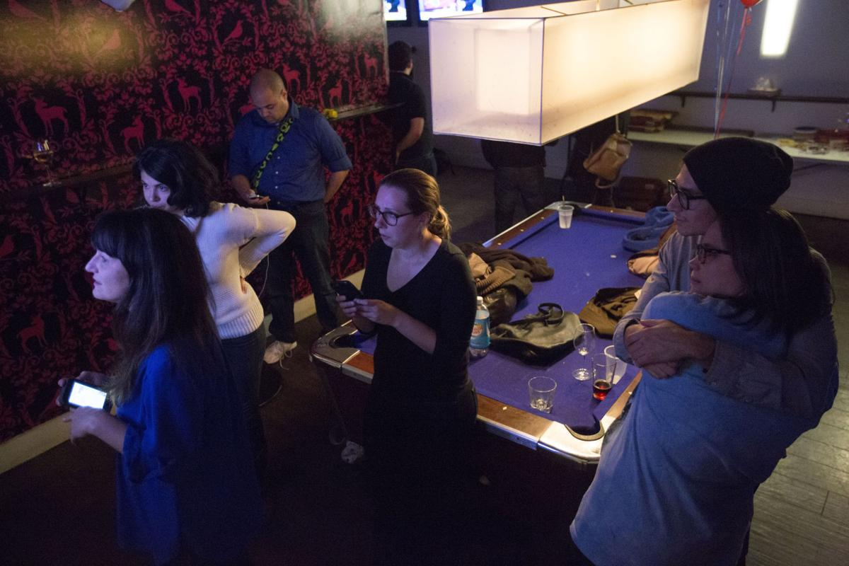At Madison\'s Plan B nightclub, Hillary Clinton supporters slide from ...