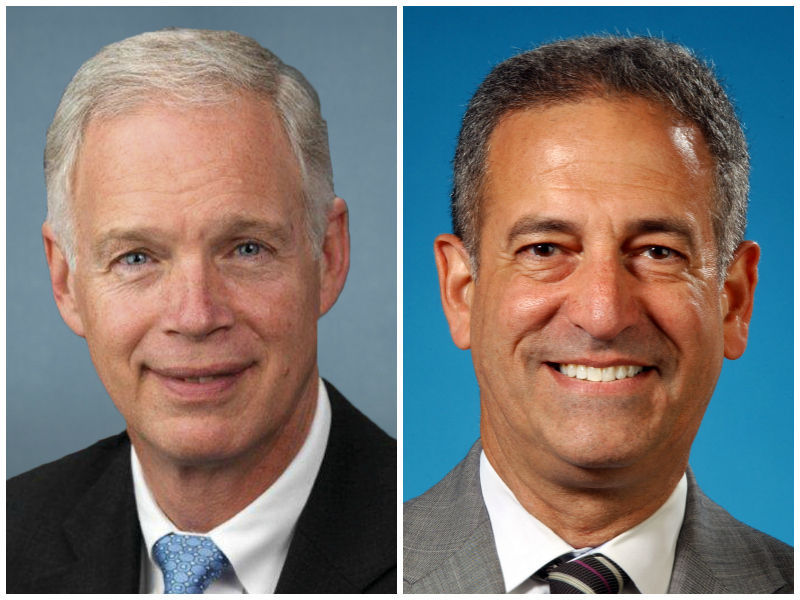 Ron Johnson and Russ Feingold