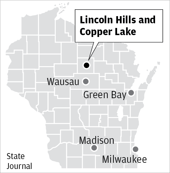 Lincoln Hills map
