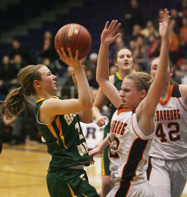 Division 2 Girls Sectional Basketball Beaver Dam Turns