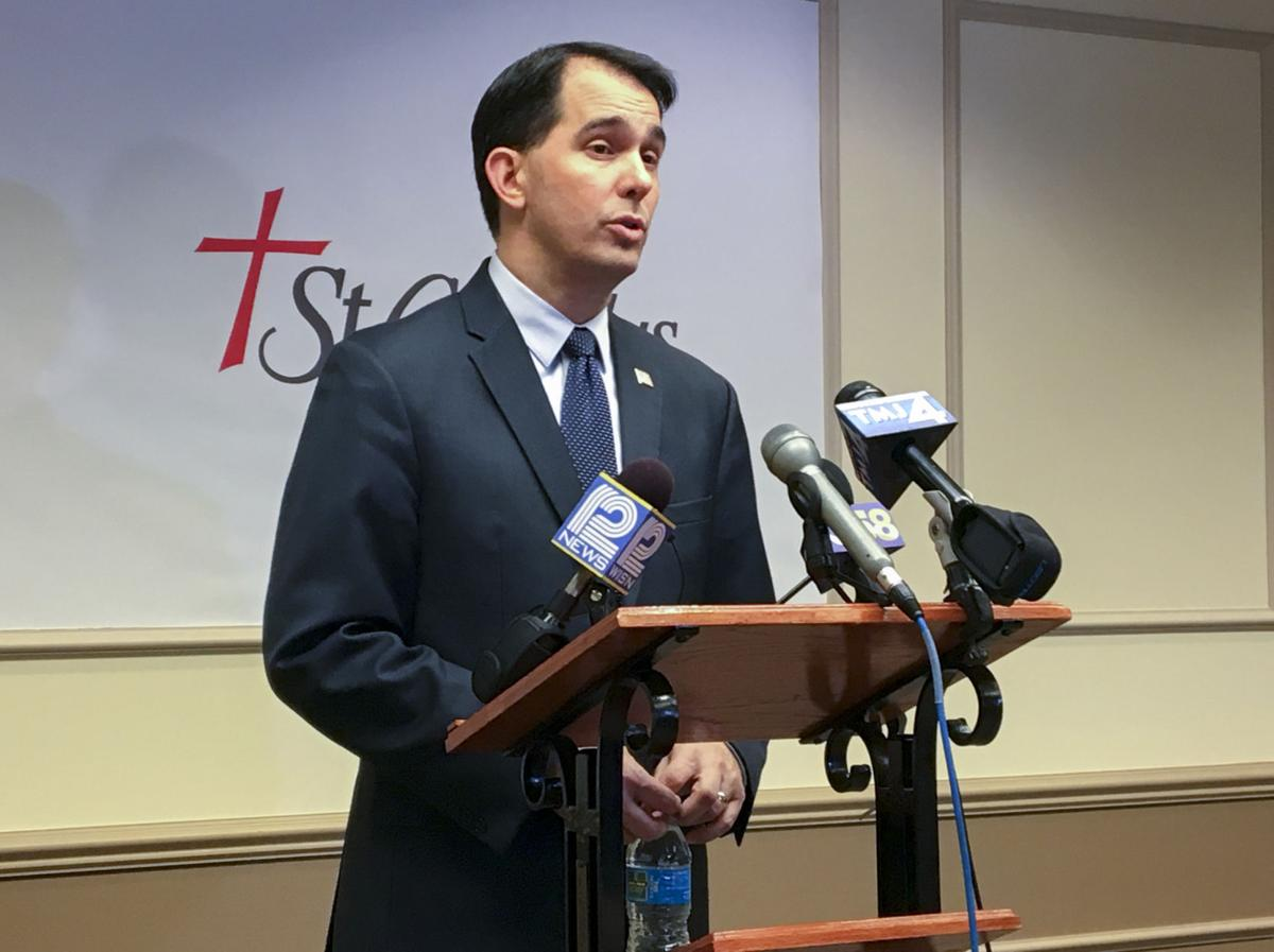 Scott Walker talks taking Act 10 national with White House (copy)