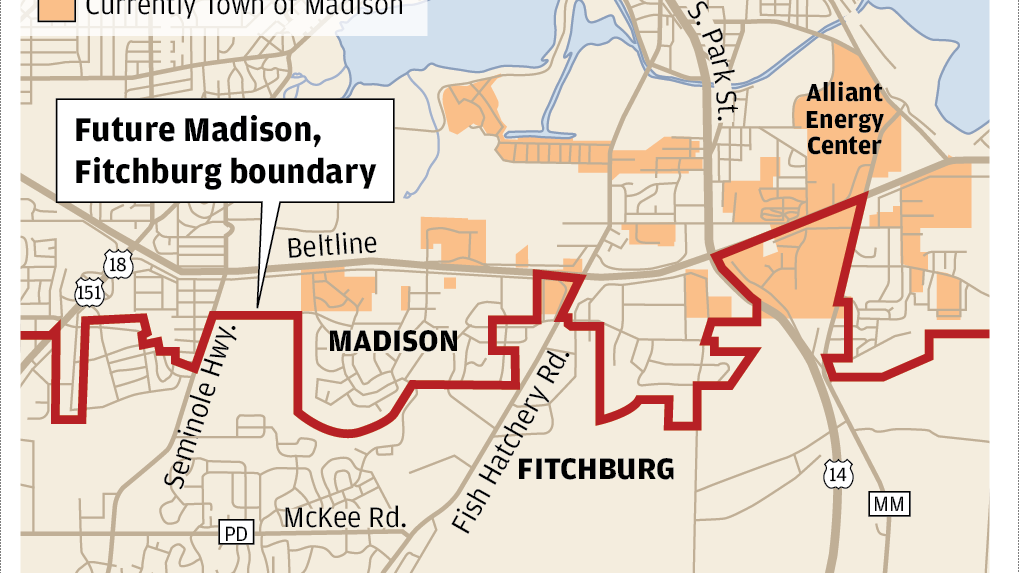 Where's the Town of Madison, what's an 'attachment' and ...