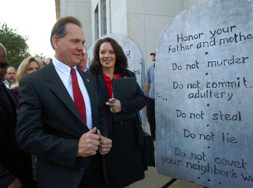 Moore's path to victory in Alabama God guns and defiance