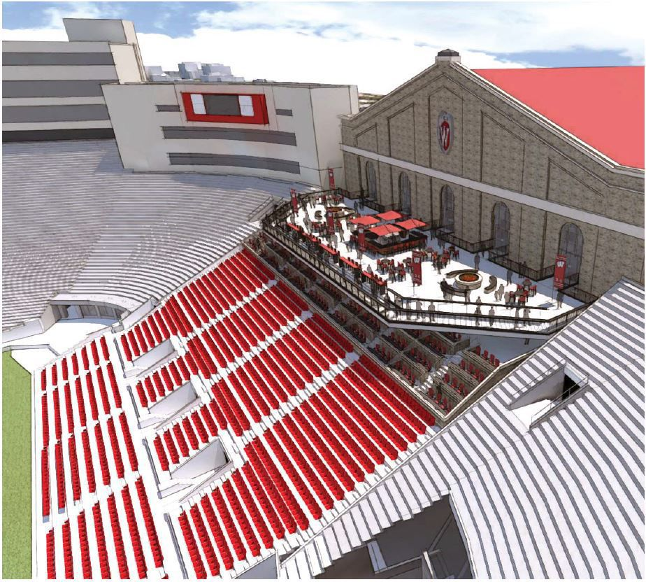 Badgers Sports Wisconsin Proposes Major Upgrades To Camp